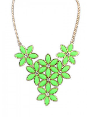 Occident Stylish New Flowers Allgleiches Collier