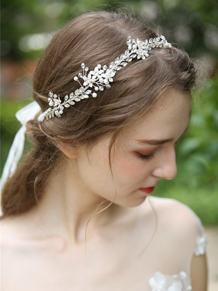 Einfache Crystal Bridal Headpieces